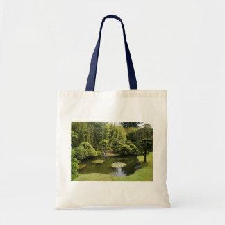Bolsa Tote Sacola japonesa da lagoa do jardim de chá de SF