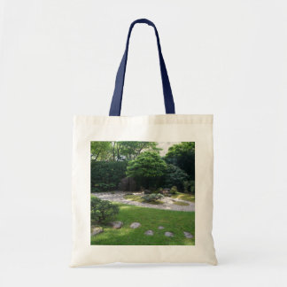 Bolsa Tote Sacola japonesa do jardim #2 do zen do jardim de