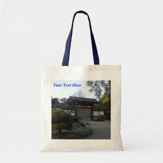 Bolsa Tote Sacola japonesa do jardim de chá #5 de San