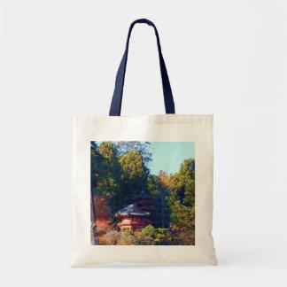 Bolsa Tote Sacola japonesa do jardim de chá #8 de San