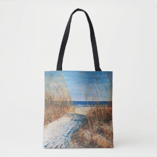 Bolsa Tote Sacola litoral da arte | da praia das dunas de