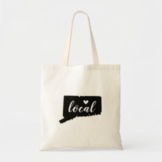Bolsa Tote Sacola local do estado de Connecticut