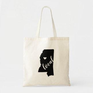 Bolsa Tote Sacola local do estado de Mississippi