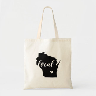 Bolsa Tote Sacola local do estado de Wisconsin