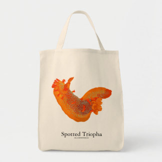 Bolsa Tote Sacola manchada de Triopha Nudibranch