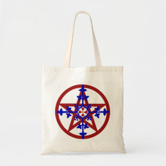 BOLSA TOTE SACOLA MEDIEVAL DO PENTACLE