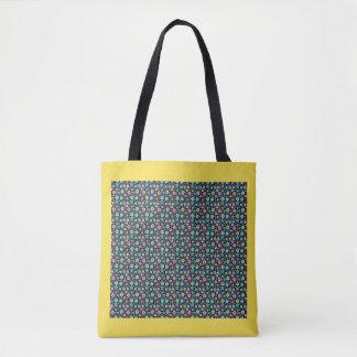 Bolsa Tote Sacola multicolorido do ziguezague