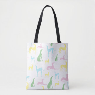 Bolsa Tote Sacola Multicoloured do galgo