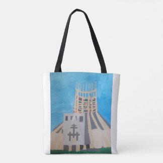 Bolsa Tote Sacola na moda da catedral de Liverpool