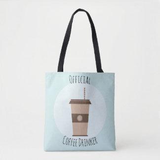 Bolsa Tote Sacola oficial do bebedor do café