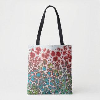 Bolsa Tote Sacola original de florescência da arte