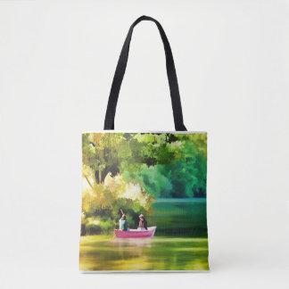 Bolsa Tote Sacola para a vida do lago e do barco