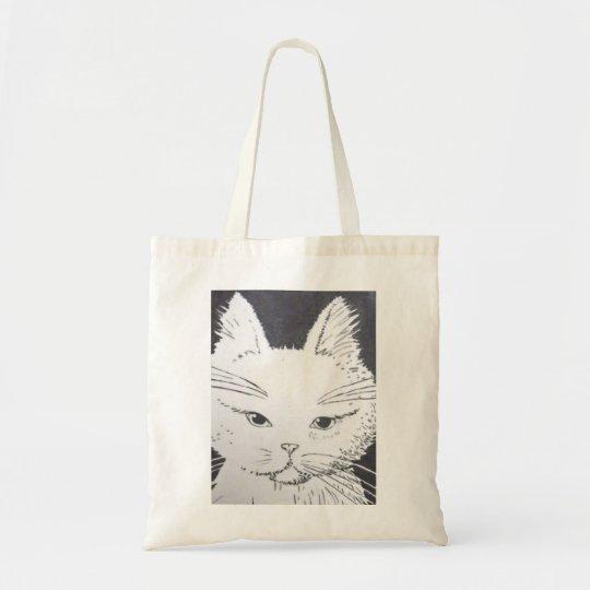Bolsa Tote Sacola para compras Gato fofinho