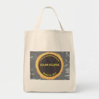 Bolsa Tote sacola para o solar eclipse-ocupado