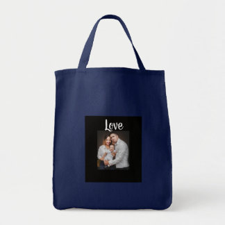 Bolsa Tote Sacola personalizada da foto de família