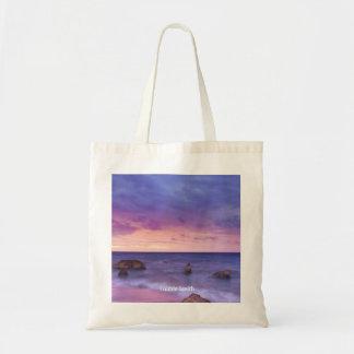 Bolsa Tote Sacola personalizada do por do sol vista para o