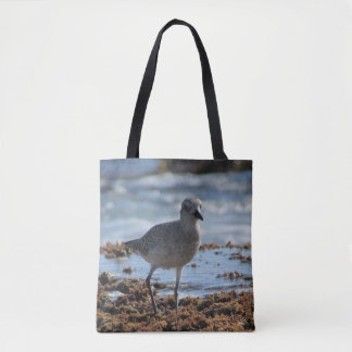 Bolsa Tote sacola Preto-inchada da tarambola