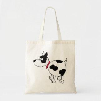 Bolsa Tote Sacola que caracteriza um cão dos desenhos