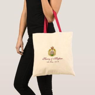 Bolsa Tote Sacola real de Harry e de casamento de Meghan