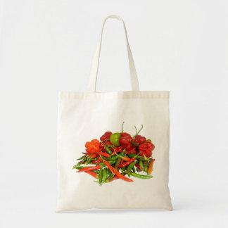 Bolsa Tote Sacola recentemente escolhida dos pimentões