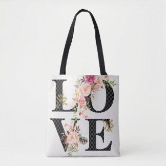 Bolsa Tote Sacola romântica do amor