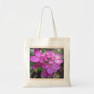 Bolsa Tote Sacola roxa da flor