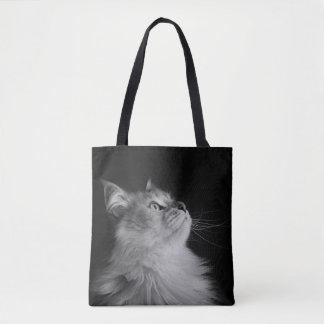 Bolsa Tote Sacola Siberian do gato