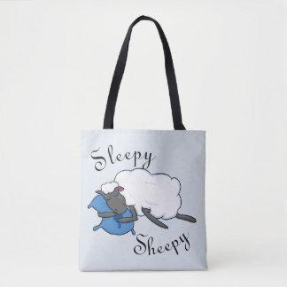 Bolsa Tote Sacola sonolento de Sheepy
