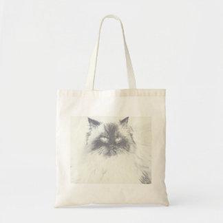Bolsa Tote Sacola tirada mão do gato