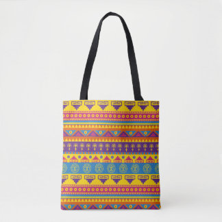 Bolsa Tote Sacola tribal do estilo mexicano