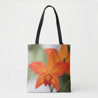 Bolsa Tote Sacola tropical da orquídea