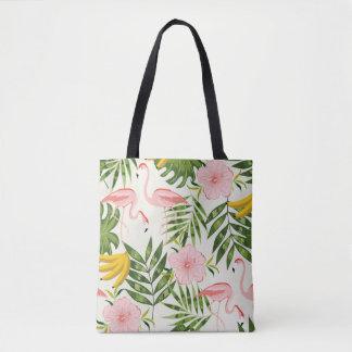 Bolsa Tote Sacola tropical do verão
