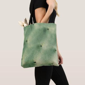 Bolsa Tote Sacola verde pálido Pastel dos espinhos do