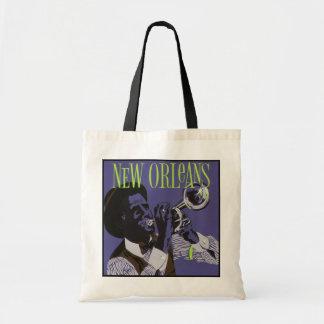Bolsa Tote Sacolas da música de Nova Orleães