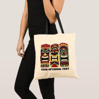 Bolsa Tote Sacolas feitas sob encomenda do texto dos Totems