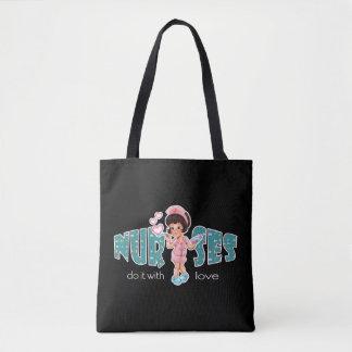 Bolsa Tote Sacolas fêmeas do presente do design da enfermeira
