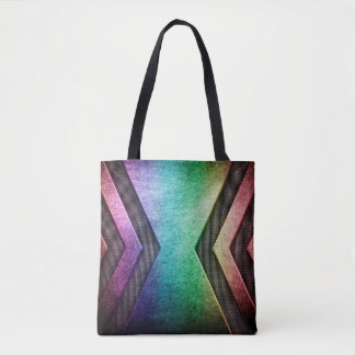 Bolsa Tote Sacolas modernas do design do arco-íris