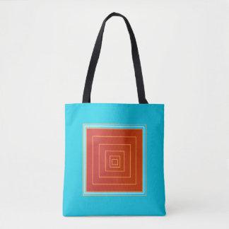 Bolsa Tote Sacolas >Trendy do Aqua saboroso e centro