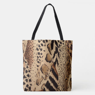 Bolsa Tote Safari Brown
