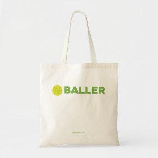 Bolsa Tote (Salmoura) sacola de Baller Pickleball