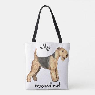 Bolsa Tote Salvamento Lakeland Terrier