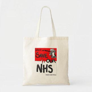 Bolsa Tote Salvar nosso NHS Cockerill