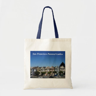 Bolsa Tote San Francisco pintou a sacola das senhoras #3