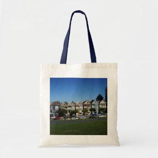 Bolsa Tote San Francisco pintou a sacola das senhoras #4
