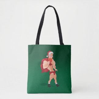 Bolsa Tote Santa Claus