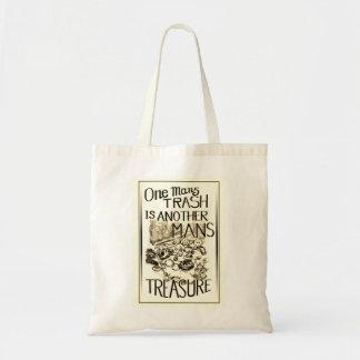 Bolsa Tote Se equipa o lixo é sacola do tesouro de um outro