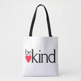 Bolsa Tote Seja amável - matérias da bondade