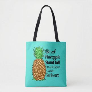 Bolsa Tote Seja um desgaste que alto do suporte do abacaxi
