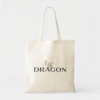 Bolsa Tote Seja um dragão