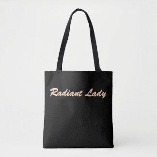 Bolsa Tote Senhora brilhante sacola